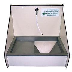Stortbak-Chemisch-Toilet