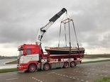 Kraanwagen-Transport