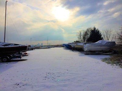 Winterstalling Buiten op Trailer (€50,- p/mtr)